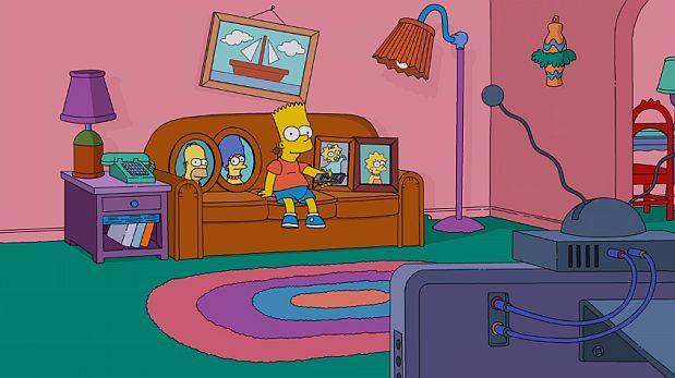El trágico momento en que Bart tuvo el control remoto [VIDEO]