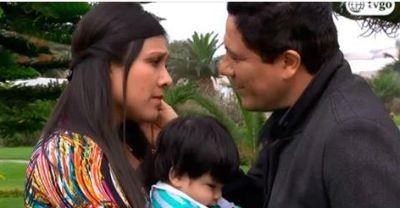 [Foto] Charo reacciona con violencia al descubrir que Lucho está vivo