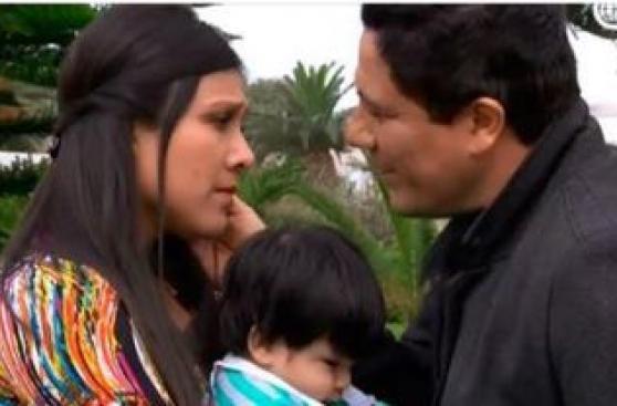 Charo reacciona con violencia al descubrir que Lucho está vivo