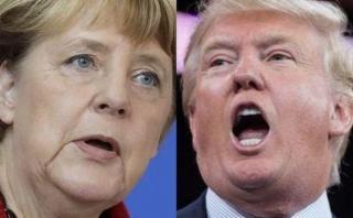 """Merkel critica decisión de Trump sobre el TTP: """"No me alegra"""""""