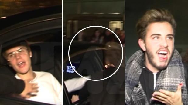 Justin Bieber le pegó a un fanático y lo dejó sangrando [VIDEO]