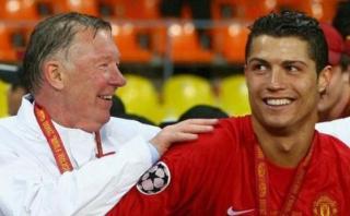 Cristiano Ronaldo y la graciosa broma a Ferguson en el United