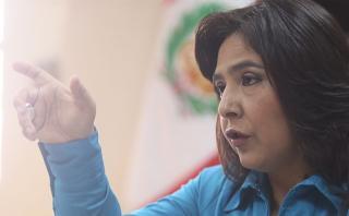"""Ana Jara dice que viaje de Nadine es """"políticamente incorrecto"""""""