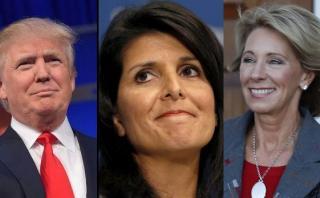 Trump: ¿Quiénes son las dos mujeres de su futuro gabinete?