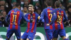 Barcelona ganó 2-0 a Celtic por Champions con doblete de Messi