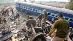 India: Accidentes ferroviarios dejan 25.000 muertos por año - Noticias de accidente de tren