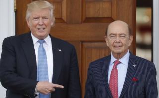 Trump elige a Wilbur Ross como secretario de Comercio