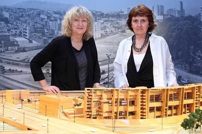 Yvonne Farrell y Shelley McNamara diseñaron el edificio de UTEC. (Foto: El Comercio)