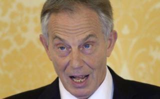 """Tony Blair: """"Los británicos pueden detener el Brexit"""""""