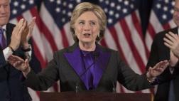 Seguidores de Clinton piden recuento de votos en estados claves