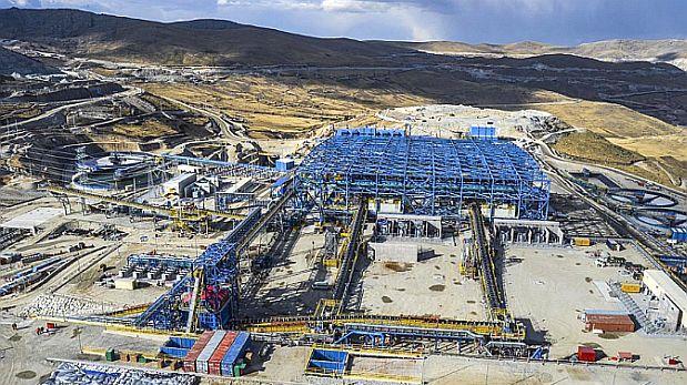 Perú sería el segundo productor mundial de cobre a fin de año