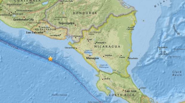 Terremoto de 7 grados sacude Centroamérica sin causar daños