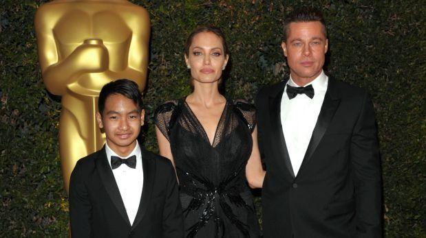 Maddox (izquierda), el hijo del matrimonio Jolie-Pitt. (Foto: AP)