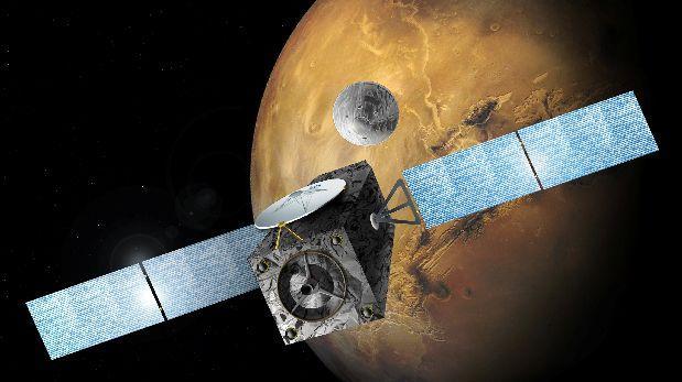 Un error de cálculo estropeó la llegada de Schiaparelli a Marte