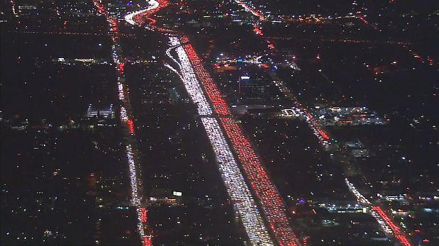 EE.UU.: el terrible tráfico provocado por Acción de Gracias