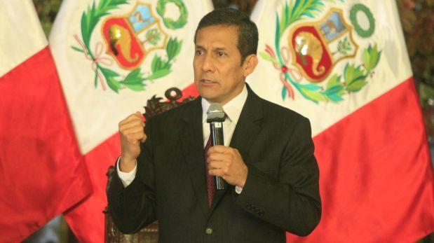 Ollanta Humala declara en fiscalía por caso Gasoducto Sur