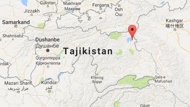 Sismo sacude frontera de China y Tayikistán