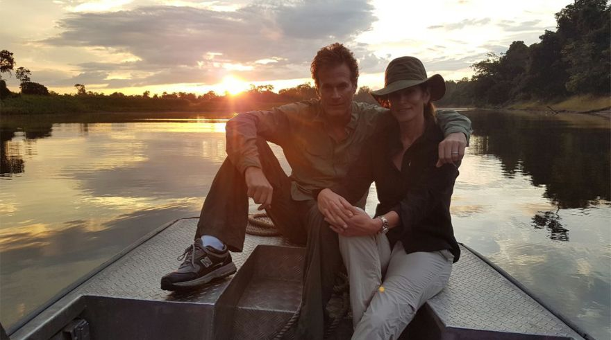 Cindy Crawford de vacaciones por el Amazonas | FOTOS