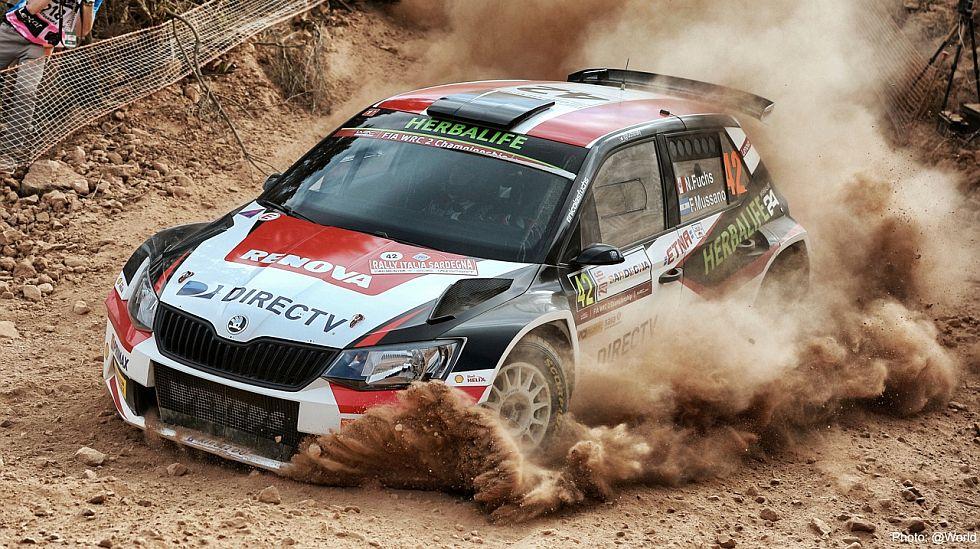 Nicolás Fuchs tiene el respaldo del equipo con el que participa en el Mundial de Rally. (foto: Prensa Fuchs)