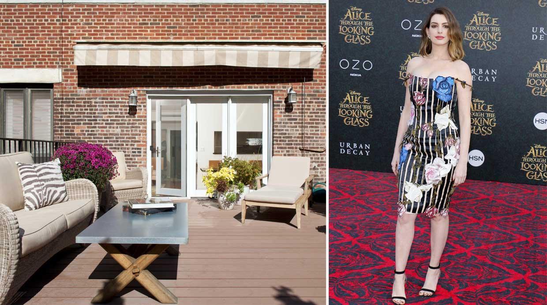 Recorre la nueva casa de anne hathaway en nueva york for La regina anne casa
