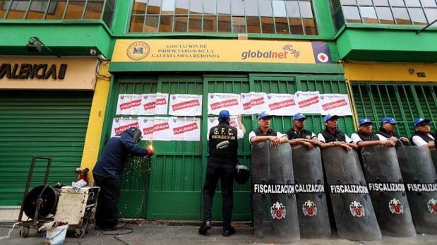 El 20% de galerías en Lima no son seguras contra incendios