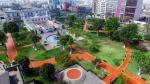 Así luce el Parque de los Museos en la Av. Paseo Colón - Noticias de parque de la exposicion