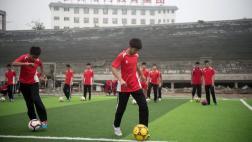 China quiere ser potencia en fútbol: firmó trato con Alemania