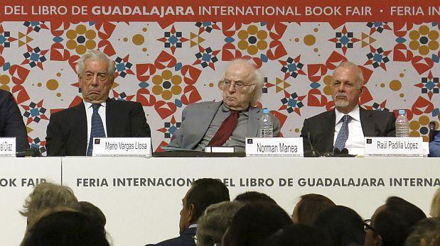 Mario Vargas Llosa inauguró la FIL de Guadalajara [VIDEO]