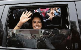 Entorno de Nadine Heredia aún no confirma si retornará al país