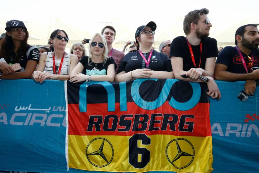 Nico Rosberg sumó 385 puntos en la clasificación general de la Fórmula 1, cinco más que Lewis Hamilton. (foto: Media Daimler)