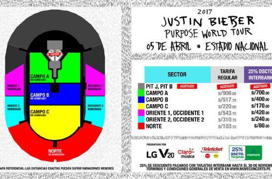 Justin Bieber en Lima: ¿Qué país pagará más dinero por verlo?