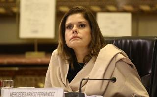 Aráoz negó que exista una persecución contra Nadine Heredia