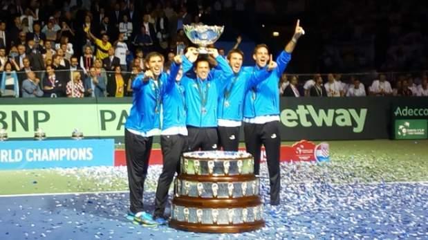 ¡Argentina campeón de la Copa Davis 2016! Venció 3-2 a Croacia