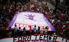 Brasil protesta contra reforma de gasto público de Temer
