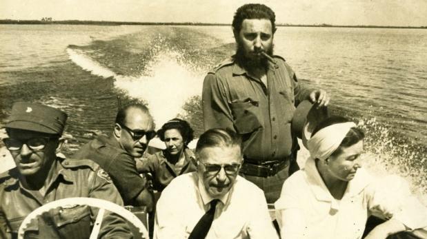 Fidel Castro: ex dictador fascinó a intelectuales franceses