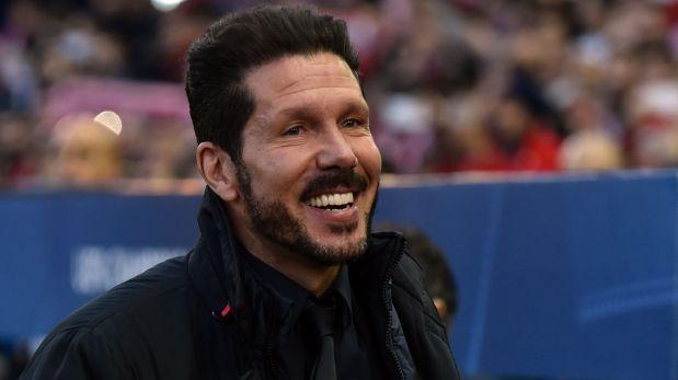 La alegría de Simeone por el gran partido de su hijo con Génova