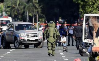 Alerta en Filipinas por intento de ataque a embajada de EE.UU.