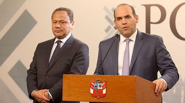 El gobierno aceptó renuncia de González al Mindef, dice Zavala