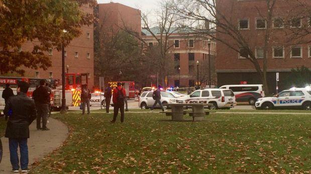 Otra vez un tirador siembra el terror en universidad de EEUU — Ohio