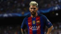 Lionel Messi no entrenó con el Barcelona por fuerte golpe