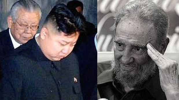 """Kim Jong-un decreta tres días de duelo por el """"amigo"""" Fidel"""