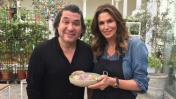 Cindy Crawford comió cebiche junto al chef Gastón Acurio