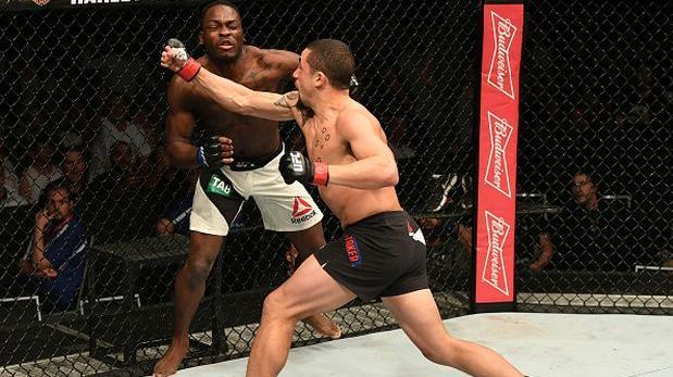 UFC: Whittaker noqueó a Brunson en una verdadera guerra [VIDEO]