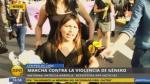 Mujeres marcharon vestidas de negro por víctimas de feminicidio - Noticias de violencia contra la mujer