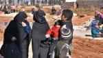 La huida de niños y mujeres de las zonas rebeldes de Alepo - Noticias de siria