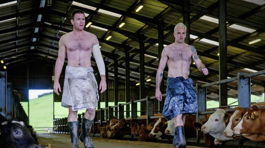 De izquierda a derecha, Renton (Ewan McGregor) y Sick Boy (Johny Lee Miller). (Foto: Difusión)