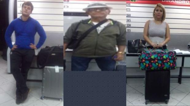 Tres extranjeros caen con droga en el aeropuerto Jorge Chávez