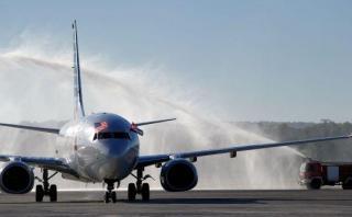 Primer vuelo comercial de EE.UU. a La Habana llegó tras 50 años