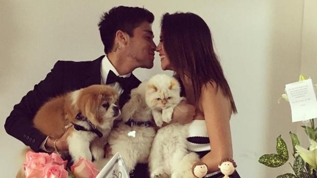 Instagram: Melissa Paredes se casó con futbolista Rodrigo Cuba