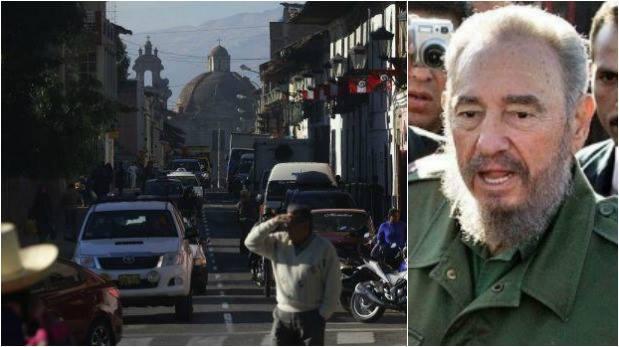 Cajamarca: gobernador declaró duelo por muerte de Fidel Castro